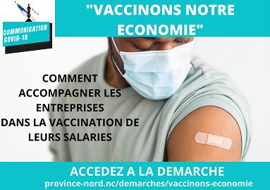 Vaccinons notre économie province Nord