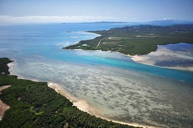 Photo aérienne Bélép Province Nord