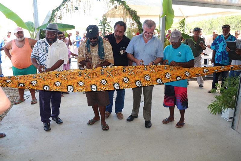 Inauguration du centre de traitement de produits agricoles à Ouégoa