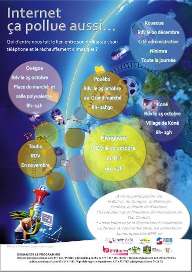 affiche journée information jeunesse Province Nord