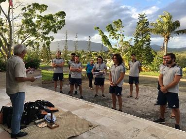 accueil équipe de France de Rugby